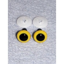 Animal Eye - 20mm Yellow Pkg_50