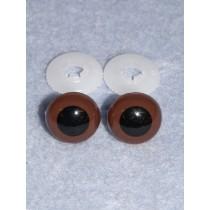 Animal Eye - 24mm Brown Pkg_50