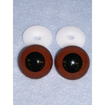 Animal Eye - 30mm Brown Pkg_50