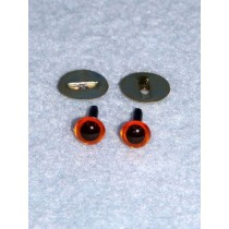 Animal Eye - 4.5mm Amber Pkg_100