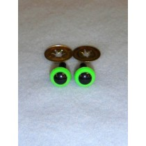 Animal Eye - 4.5mm Bright Green Pkg_100