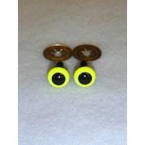 Animal Eye - 4.5mm Bright Yellow Pkg_100