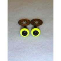 Animal Eye - 4.5mm Bright Yellow Pkg_100