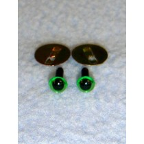 Animal Eye - 4.5mm New Green Pkg_100
