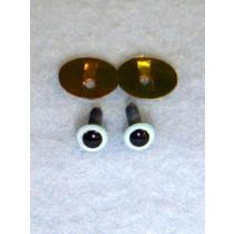 Animal Eye - 4.5mm Pearl Blue Pkg_100