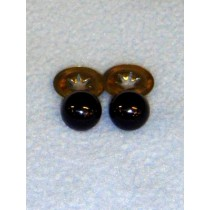 Animal Eye - 6mm Black Pkg_100