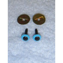 Animal Eye - 6mm Blue Pkg_100