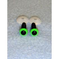 Animal Eye - 6mm Bright Green Pkg_100