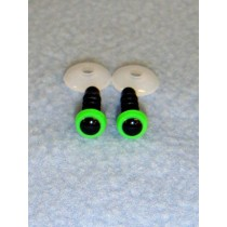 Animal Eye - 6mm Bright Green Pkg_100