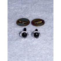 Animal Eye - 6mm Clear Pkg_100