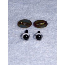 Animal Eye - 6mm Clear Pkg_100