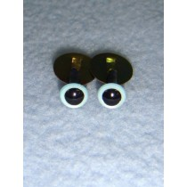 Animal Eye - 6mm Pearl Blue Pkg_100