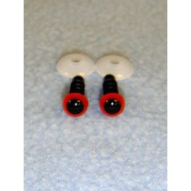 Animal Eye - 6mm Red Pkg_100