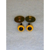 Animal Eye - 6mm Yellow Pkg_100