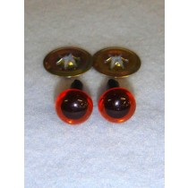 Animal Eye - 7.5mm Amber Pkg_100