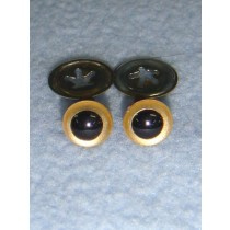 Animal Eye - 7.5mm Gold Pkg_100