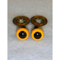 Animal Eye - 7.5mm Yellow Pkg_100