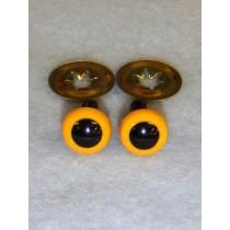 Animal Eye - 7.5mm Yellow Pkg_100
