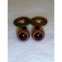 Animal Eye - 7.5mm Brown Pkg_6