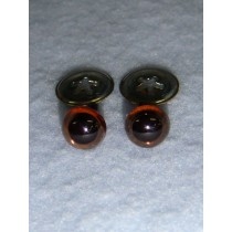 Animal Eye - 7.5mm New Light Brown Pkg_100