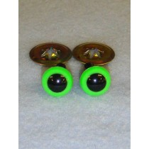 Animal Eye - 9mm Bright Green Pkg_100