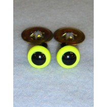 Animal Eye - 9mm Bright Yellow Pkg_100