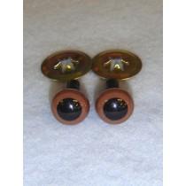 Animal Eye - 9mm Brown Pkg_100
