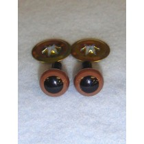Animal Eye - 9mm Brown Pkg_100