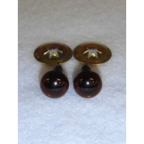 Animal Eye - 9mm Deep Brown Pkg_100