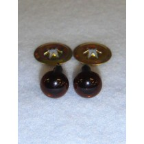 Animal Eye - 9mm Deep Brown Pkg_6