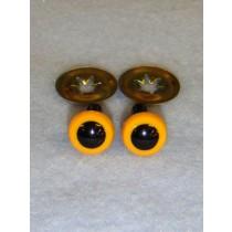 Animal Eye - 9mm Yellow Pkg_100