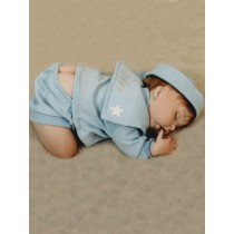 "Baby Boy Set - Sailor - 18"" Lt Blue"