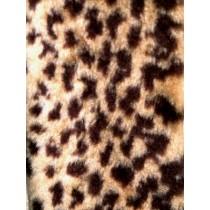 Baby Leopard Fur Fabric 1 Yd
