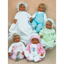 """Baby Love Clothes Pattern-17-18""""Dol"""