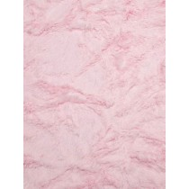 Baby Pink Soft Cuddle Crush Fabric - 1 Yd