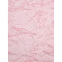 Baby Pink Soft Cuddle Crush Fabric - 1 Yd