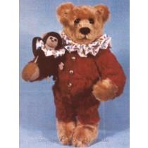 "Barnum & Bailey 12"" Bear & 4"" Monkey"