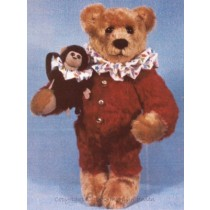 "Barnum & Bailey 12"" Bear & 4"" Monkey"