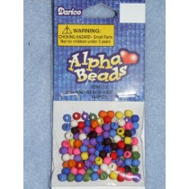 Beads - Rnd 4mm Asst Colors Pkg_144