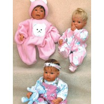 """Beary Soft Clothes Pattern -20""""Doll"""