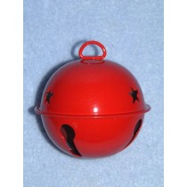 Bell - Jingle - 65mm Red