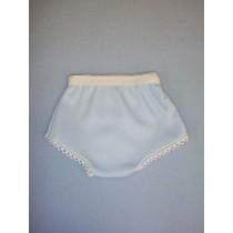 "Blue Cotton Knit Panties - 18"" Dolls"