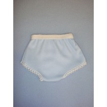 "Blue Cotton Knit Panties - 18"" Dolls"