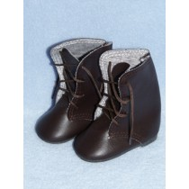 "Boot - Lace-Up - 3"" Brown"