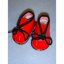 "Boot - My Golly - 3"" Red Patent"