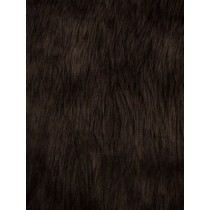 Brown Luxury Shag Fur - 1 Yd