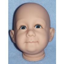 Bubba Head w_Blue Eyes - Translucent