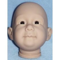Bubba Head w_Brown Eyes - Translucent
