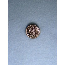 "Buttons - 5_8"" Shank - Antique Silver Pkg_12"