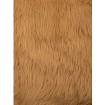 Camel Luxury Shag Fur - 1 Yd